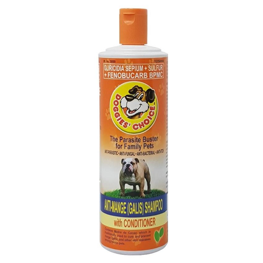 Doggies Choice Anti-Mange Dog Shampoo with Conditioner 125ml