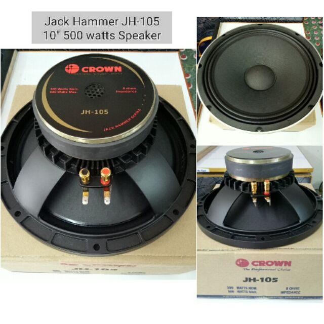 Jack Hammer Jh 108 10 800 Watts Instrumental Speaker Shopee
