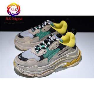 8a9f9d37ac61 SLK ☆ Ready stock balenciaga triple-s men and women shoes leisure fashion  gym shoes