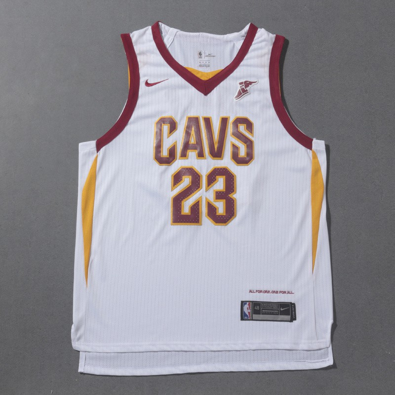 new product c867e 4ef46 Nike Cleveland Cavaliers LeBron James NBA Jersey #23 Uniform