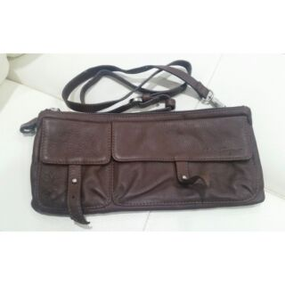 Salvatore Ferragamo Leather Two-way Crossbody and Clutch Bag ... d21b430e48405