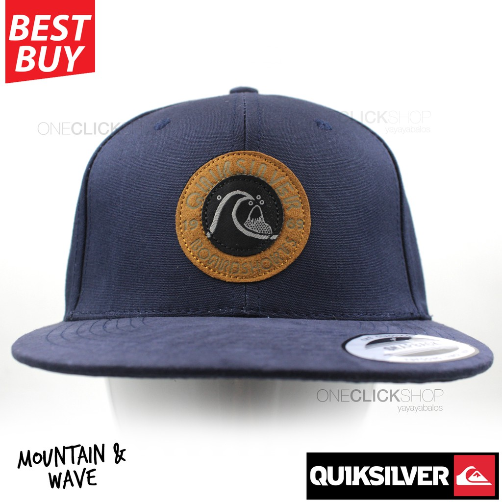 2321b46f6b3 Quiksilver Mountain and Wave Sports Adventure Cap-Dark Blue