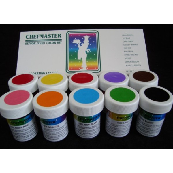Food Color Chefmaster Gel Paste