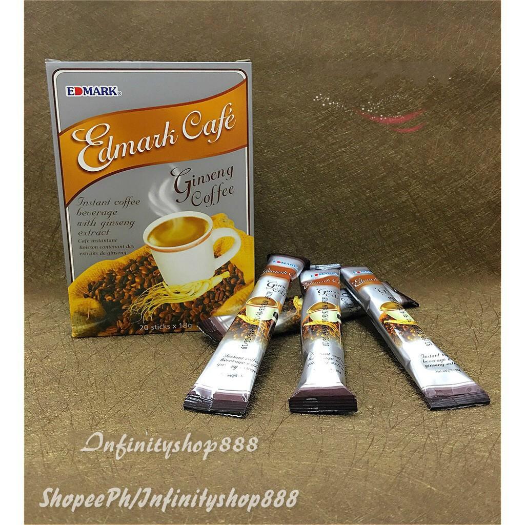 Edmark Cafe Ginseng Coffee Sachet 18g Box of 20