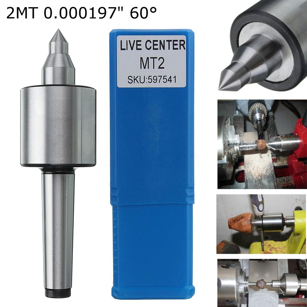 MT2 Live Center Morse Taper Precision 0.000197/'/' CNC Long Spindle Lathe Kits