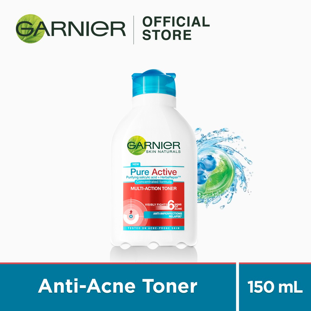 Pure Active Acne Oil Clearing Foam 100ml 50ml By Garnier Shopee Philippines
