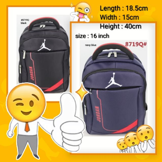 ff00589726a jordan backpack - Men's Bags Prices and Online Deals - Men's Bags &  Accessories Apr 2019   Shopee Philippines