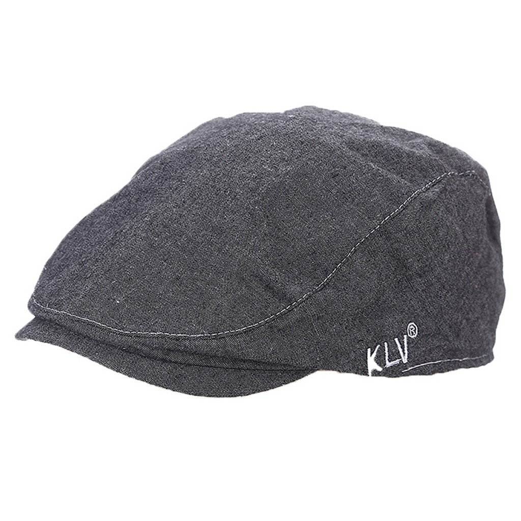 79d2701f031de British Style Men Women Ivy Flat Cap Newsboy Beret Peaked Cabbie Driving Hat  Hot