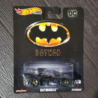 2019 Hot Wheels Retro DC Cinematic Batmobile