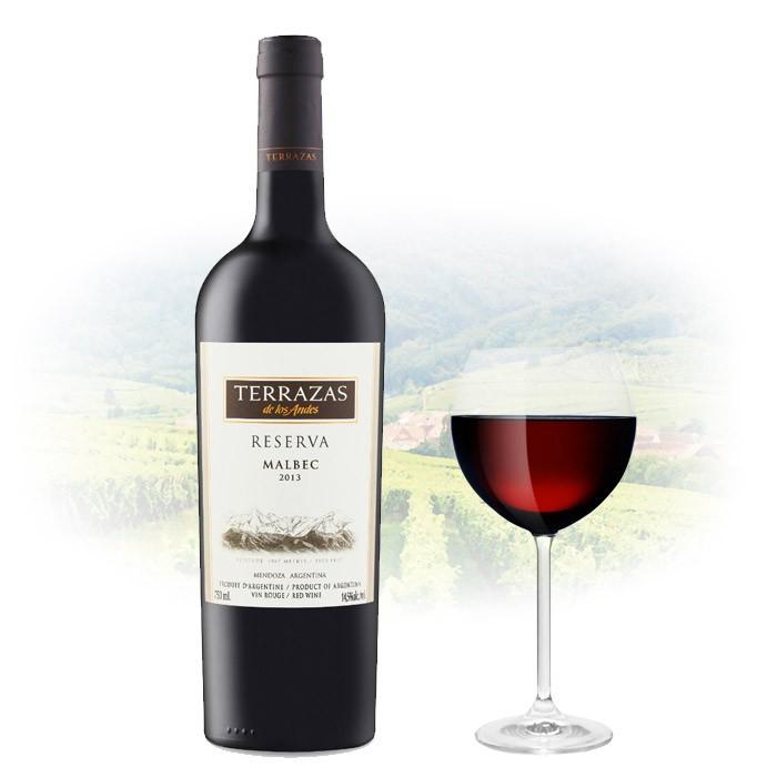 Terrazas De Los Andes Reserva Malbec 2015 Wine