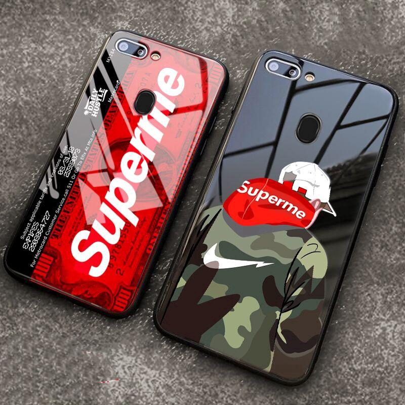 Oppo F7 F5 F9 Shockproof Cover Supreme Glass Case Shopee Philippines