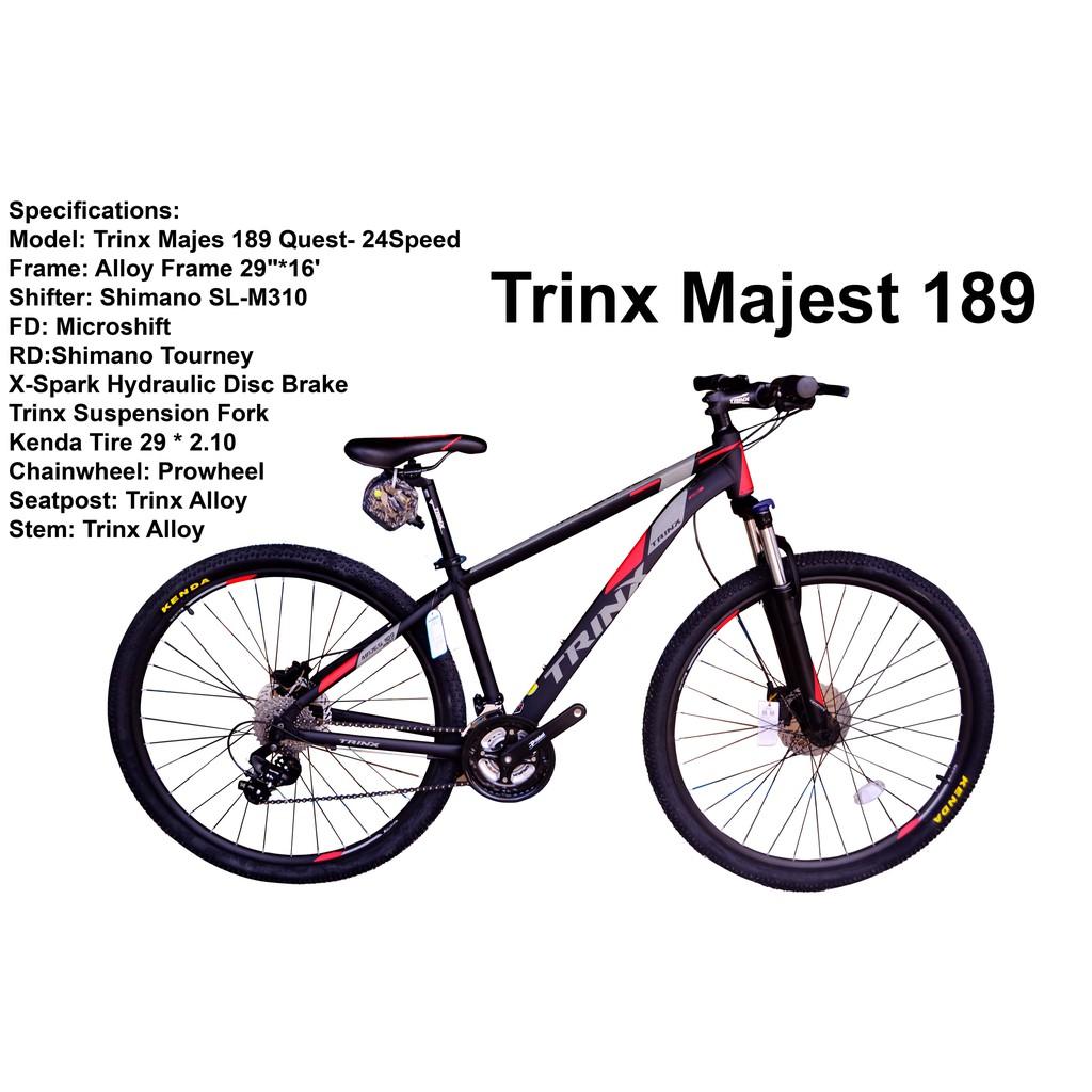 Trinx M189 29er 2020 Mountain Bike Shopee Philippines