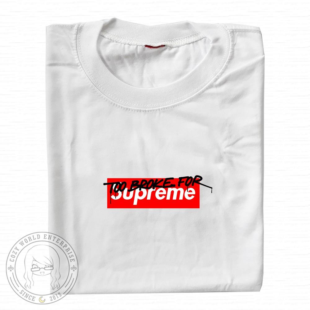 d41923820eb4 Supreme X comme des garcons tees   Shopee Philippines