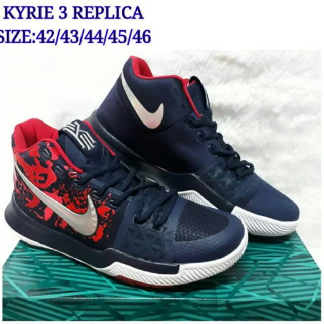 hot sales 50e24 84b5d NIKE KYRIE IRVING 3 BASKETBALL SHOES. SIZES 42-46.   Shopee Philippines