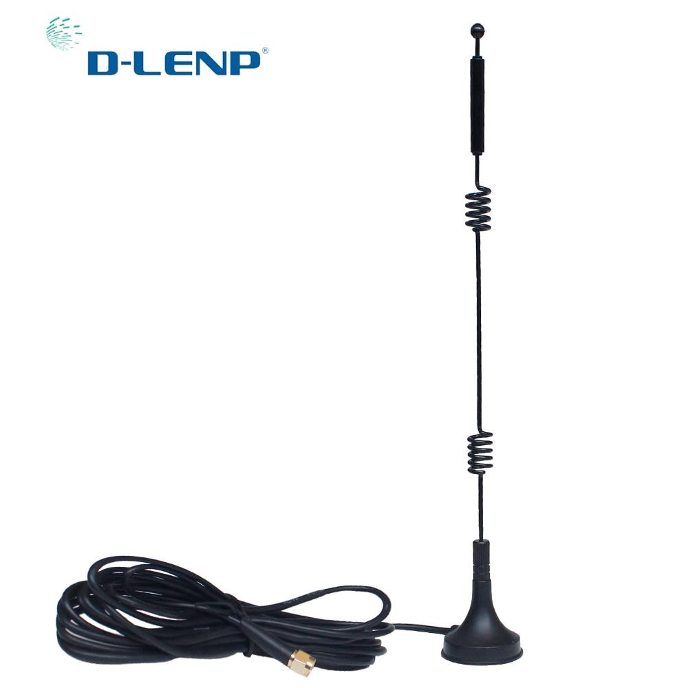2pcs Dual-Band Antenne Wifi 2.4 G 5.8 G 9dbi RP SMA Mâle Antenne Connecteur FPV Radio Control
