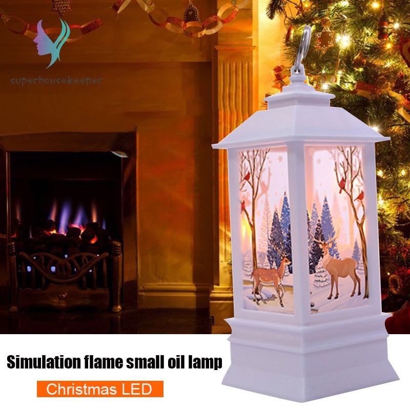 Christmas Decorations Lanterns Led Candle Home Tea Light Candles Ornament Christmas Decor Shopee Philippines