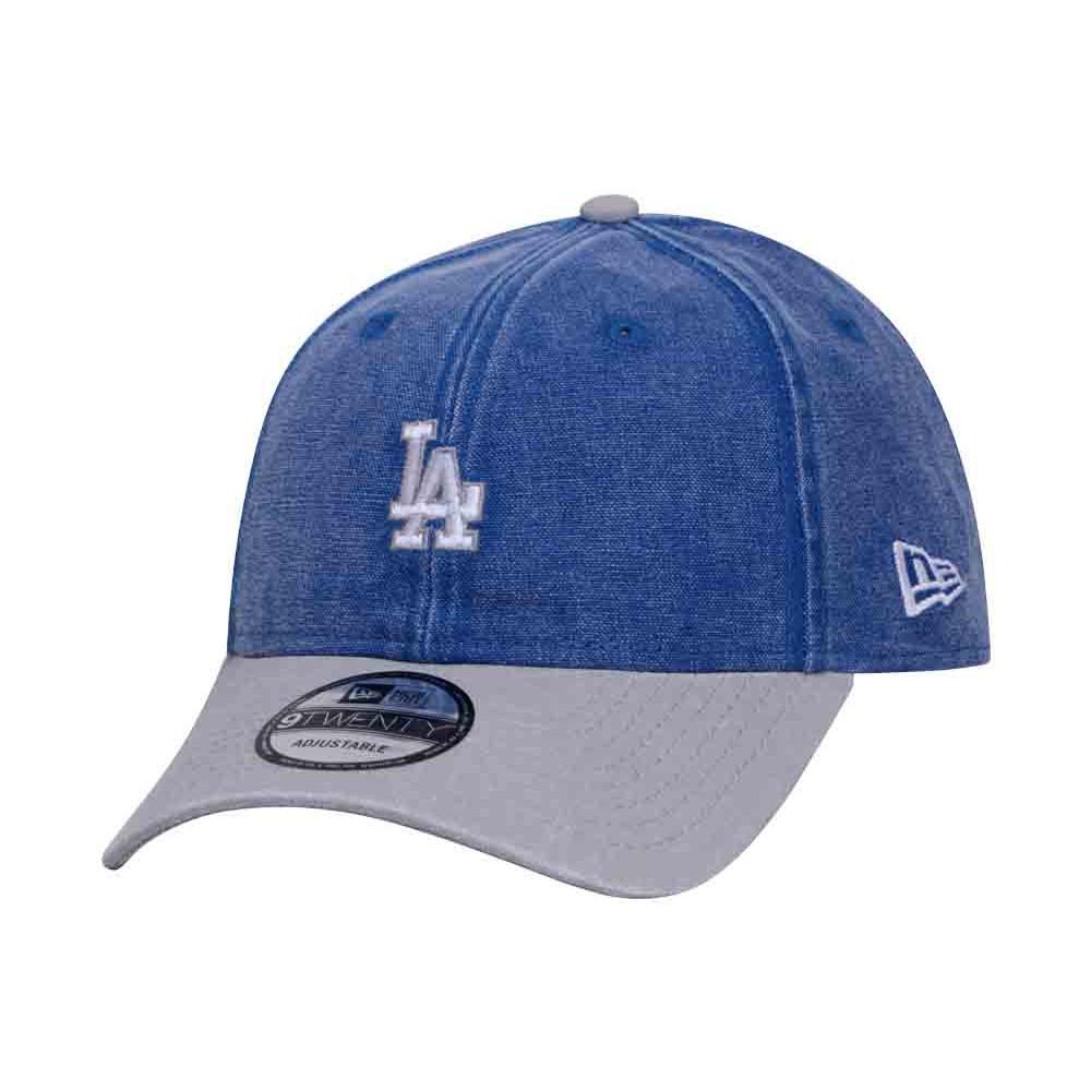 sports shoes ec300 73215 Los Angeles Dodgers MLB Rugged Canvas Gray Blue 9TWENTY Cap   Shopee  Philippines