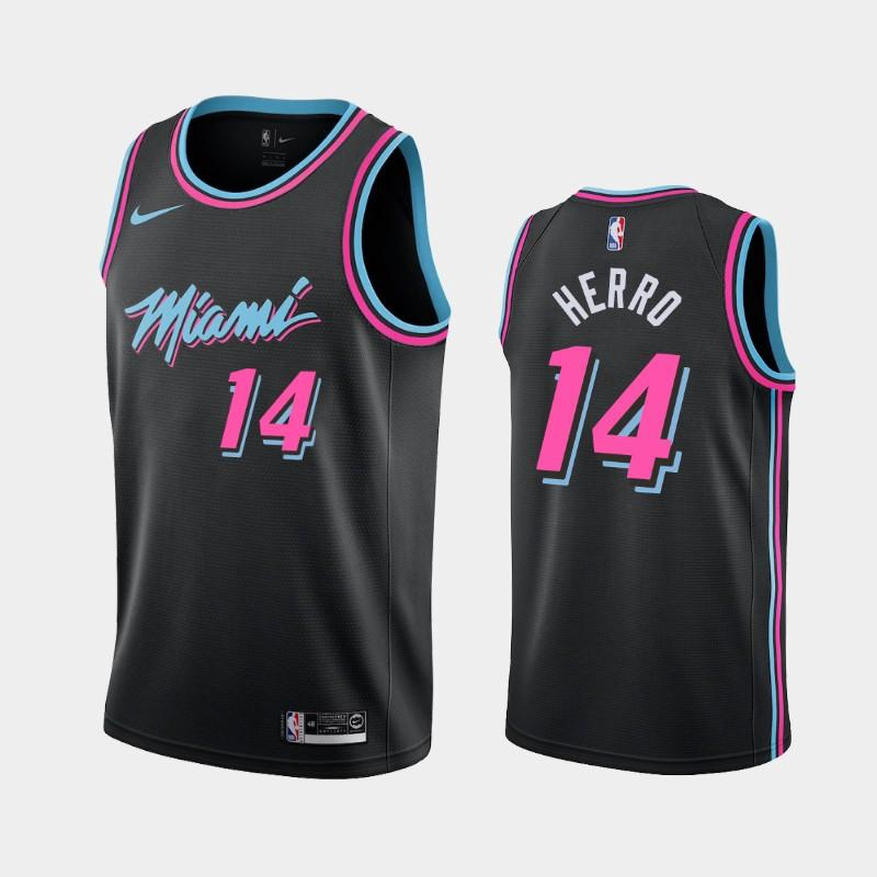 Miami Heat 21 Season New Edition Adult Basket Blacksy Jersey T-Shirt Tank Top S-XXL Donne da Uomo Tyler Herro Jersey