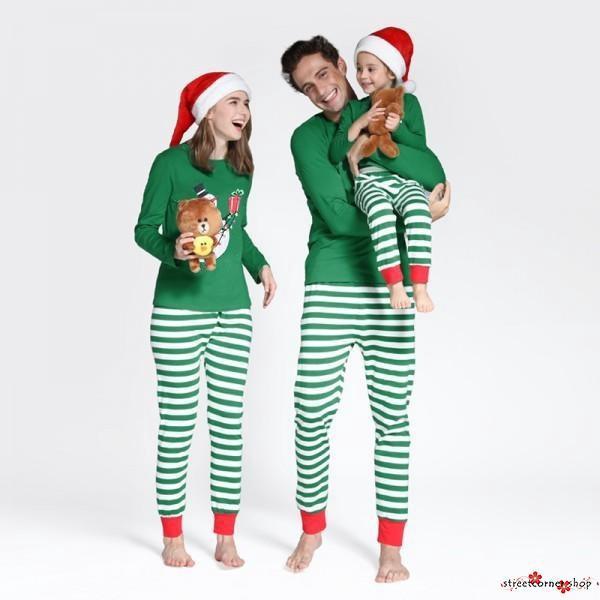 Christmas Family Pajamas Set.Sth Us Christmas Family Pajamas Set Xmas Adult Women Men