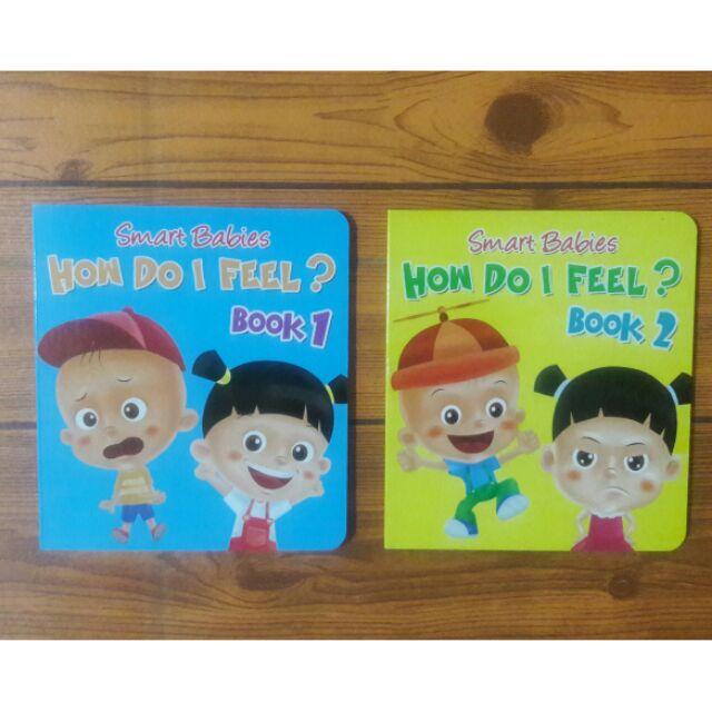 Smart Babies How Do I Feel Board Book