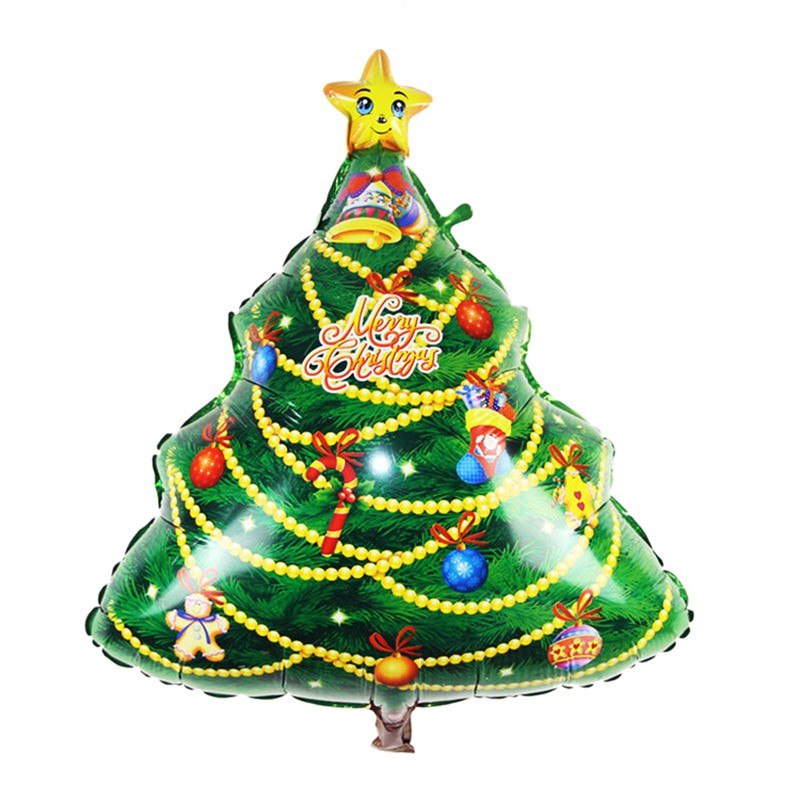 Foil Christmas Tree.Loveshop 1pc Christmas Tree Aluminum Foil Balloon Christmas Party Decoration Merry Xmas