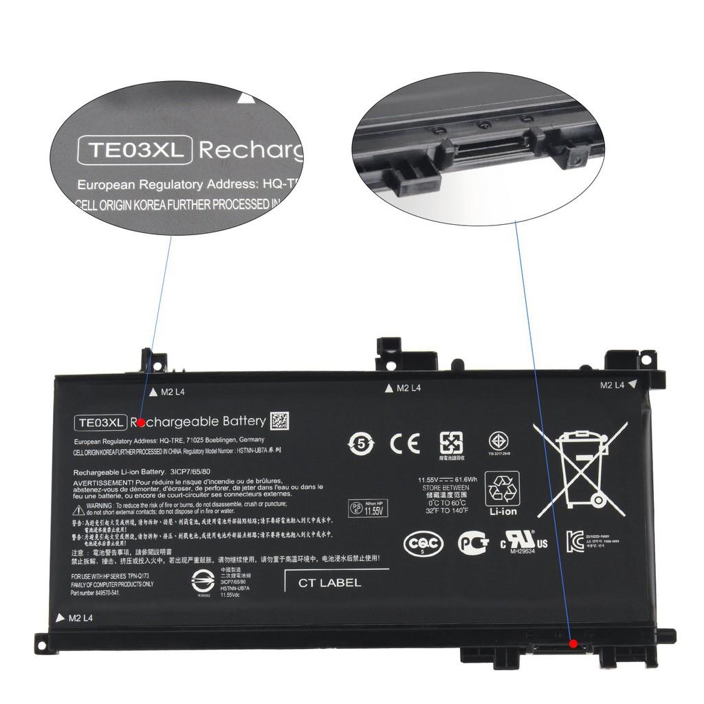 TE03XL Battery for HP 15-AU 15-AX 15-BC 15-BC015TX 15-AX000