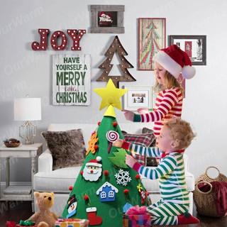 Christmas Tree Toys Decoration.3d Diy Christmas Tree New Year Toys Artificial Tree Decor