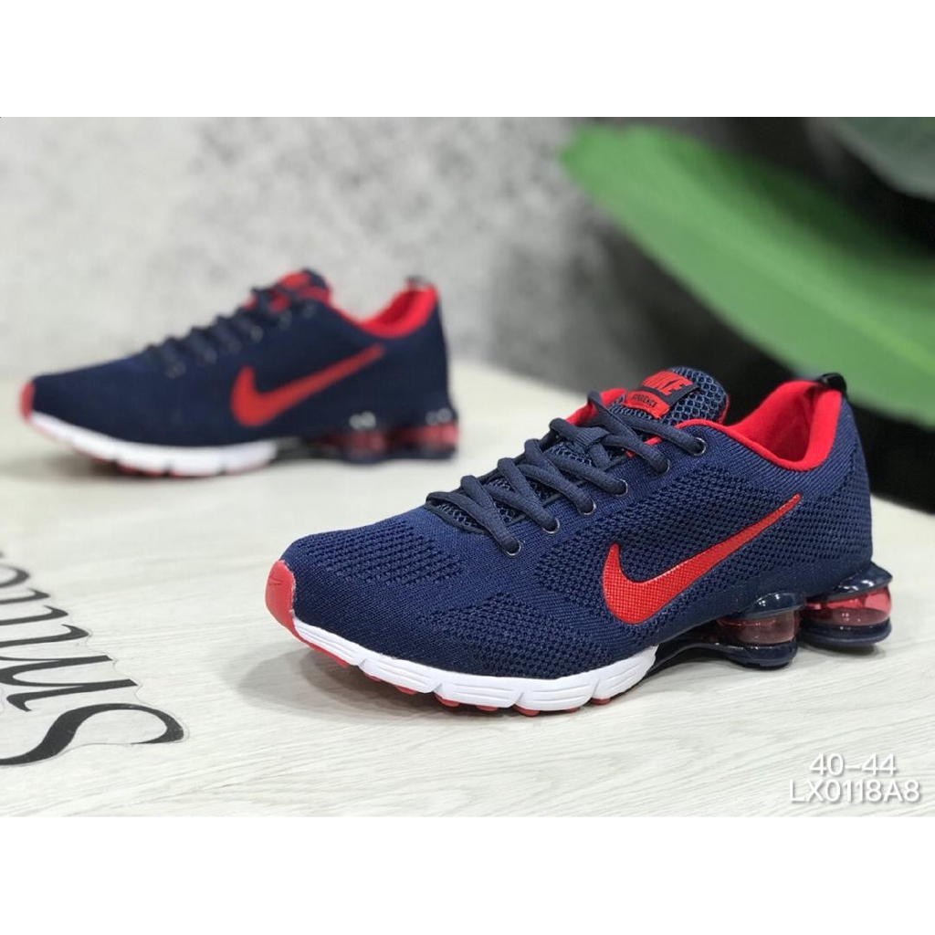 check out 48fb8 a8958 Ready Stock NIKE AIR VAPORMAX FLYKNIT for men red and blue