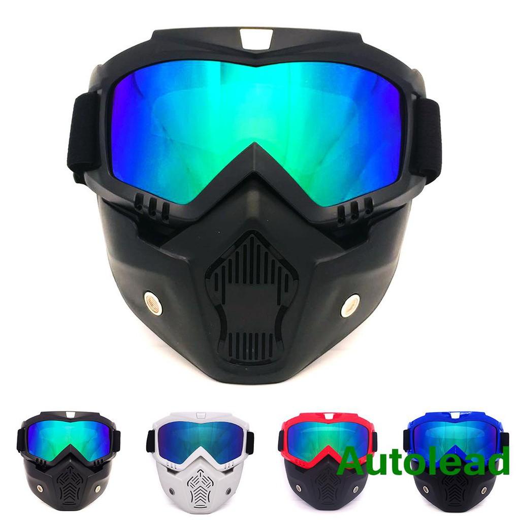 efda0ceda90fc Direct Harley retro helmet goggles face goggles motocross go ...