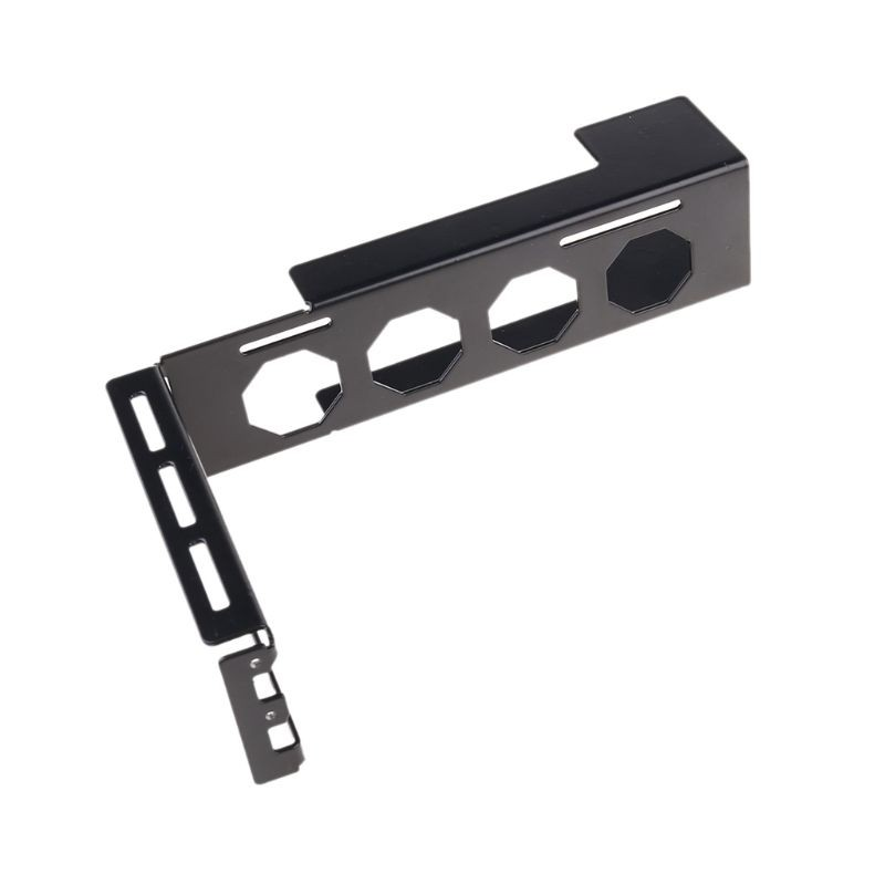 Mwergkou Metal Graphics VGA Card Holder Aluminum Alloy VGA Bracket Graphic Card Front Side Converted Support