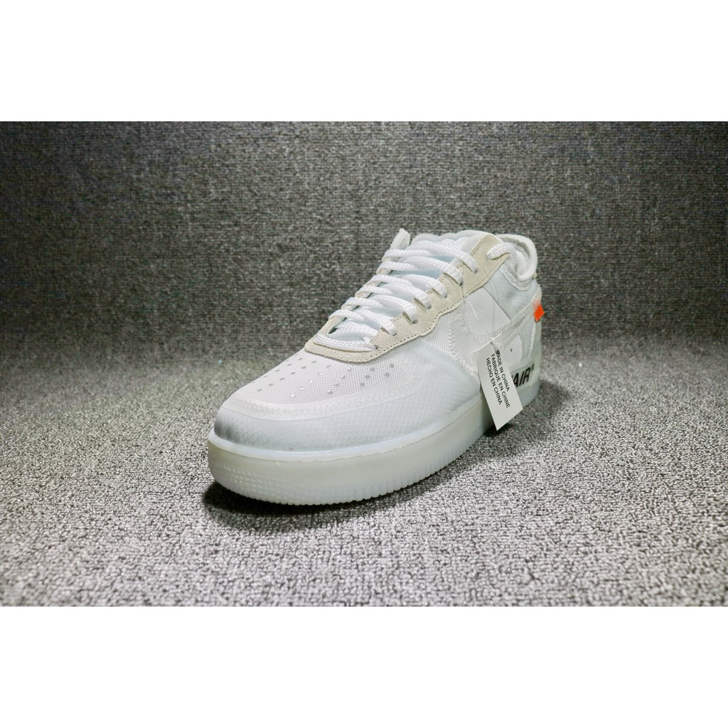 H544GX Off white X Nike Air Force 1 Low On One To Help Joint Ao4606 100