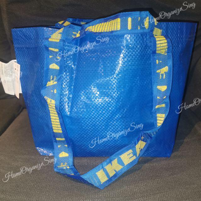 3 sets of IKEA FRAKTA BRATTBY KNÖLIG bags blue