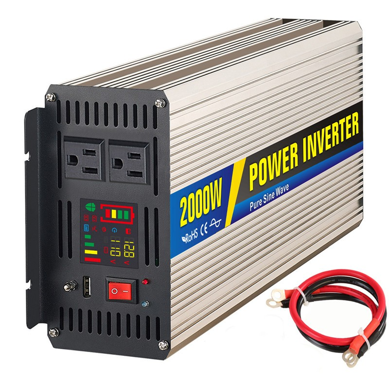 Electrical & Solar Home Improvement 2000w Off Grid Inverter Dc24v Or 48v To Ac230v Epever Pure Sine Wave Inverter Ce