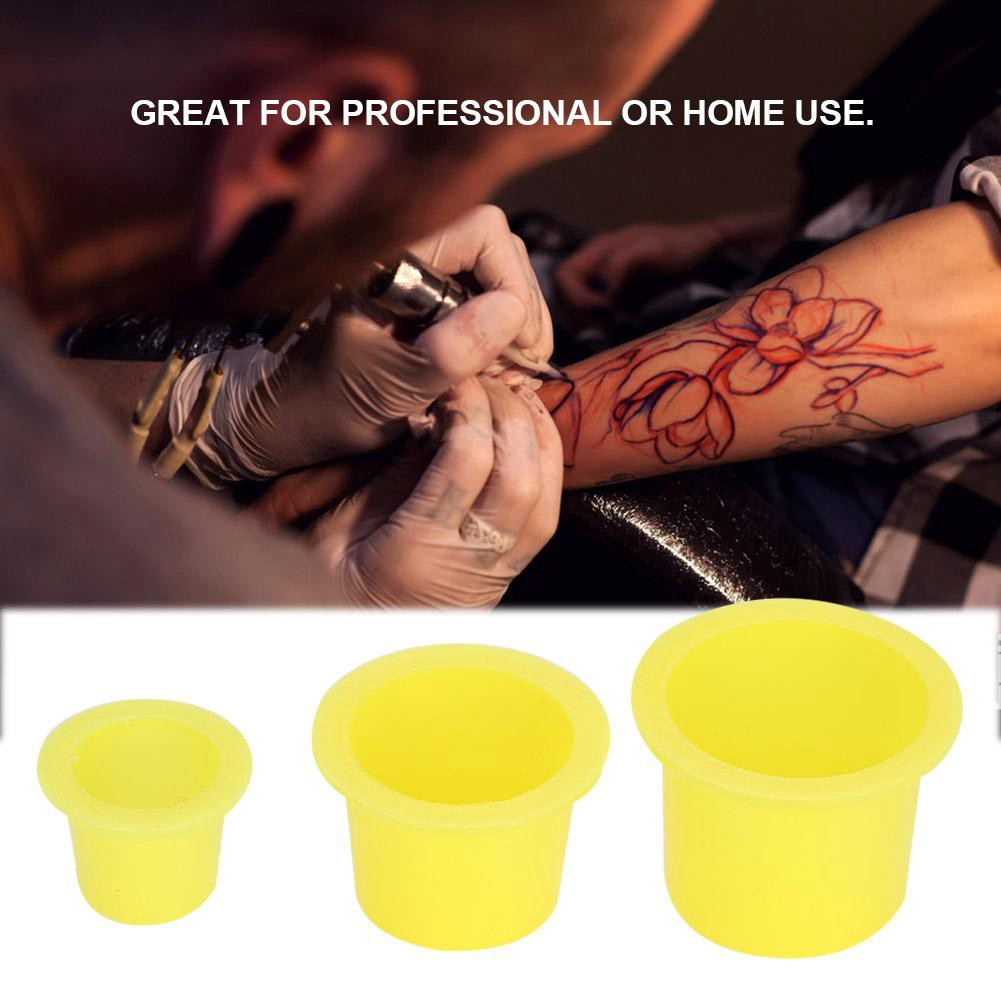 579407534 1000Pcs Tattoo Ink Cup Plastic Pigment Holder Permanent | Shopee Philippines