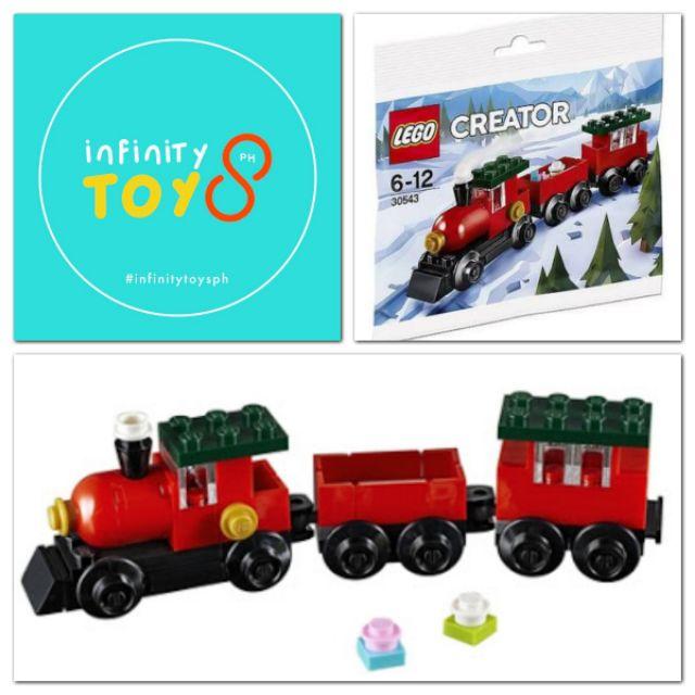 Lego Christmas Train.Lego Creator 30543 Christmas Train Polybag