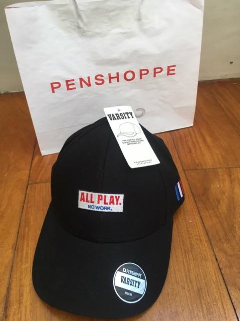 Sale Penshoppe Varsity Cap Brand New With Paper Bag Shopee
