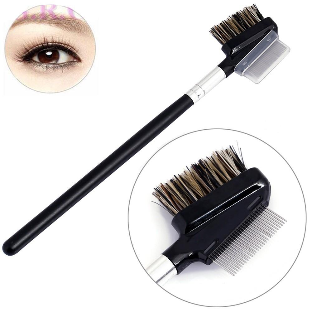 7d0867badaf Metal Comb Brush for Lash & Eyebrow Cosmetic Makeup Eyelash   Shopee  Philippines