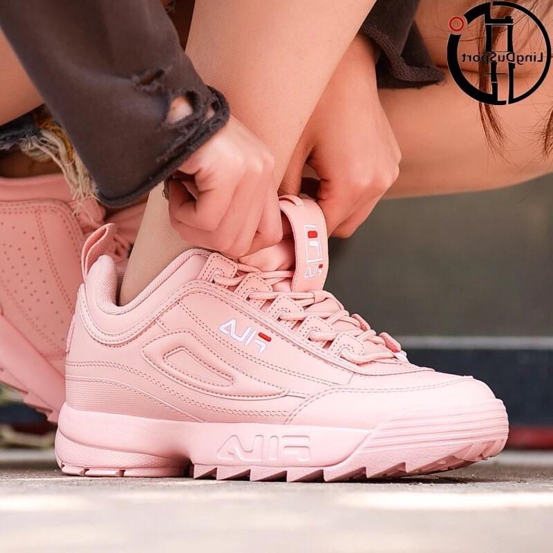 36 40 ☆ Fila disruptor 2 Generasi Pink ☆ Korea Women Shoes