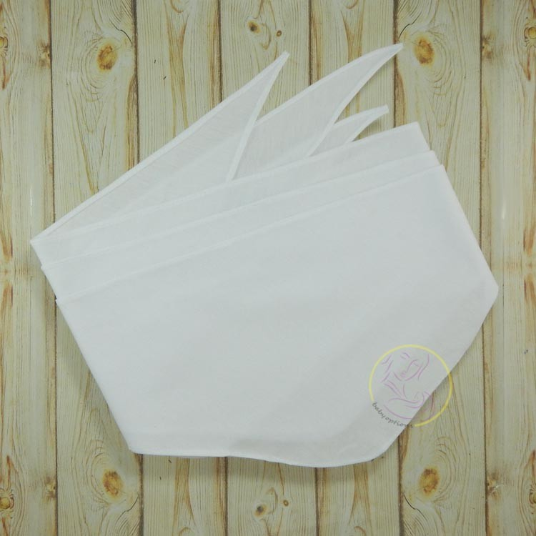 INVENTORY SALE!!! Newborn Baby White Belly Binder (Bigkis