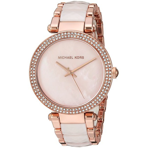 7ecf90070a03 Michael Kors MK5868 Skylar Rose Gold Tone Bracelet Watch