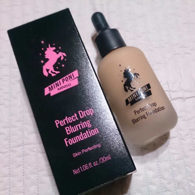 Miniso Mini Poni Perfect Drop Blurring Foundation Shopee Philippines