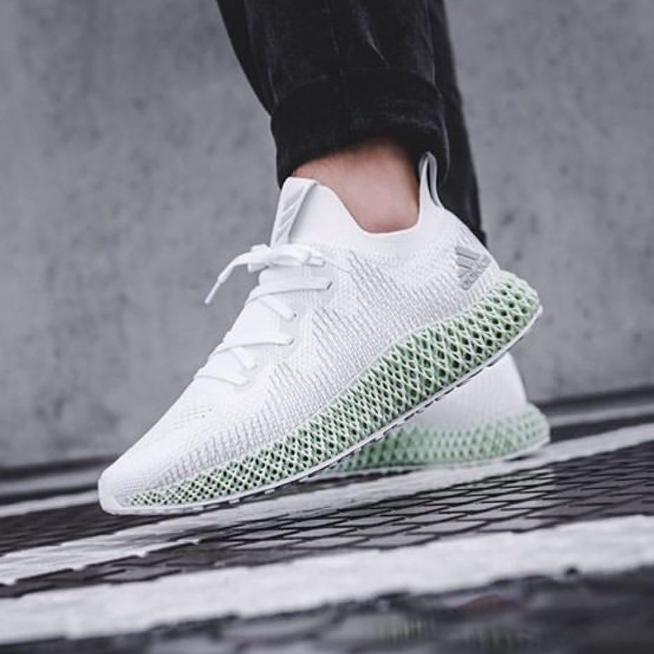 busto Final segmento  2019 New Adidas Alpha Edge 4D White Shoes | Shopee Philippines