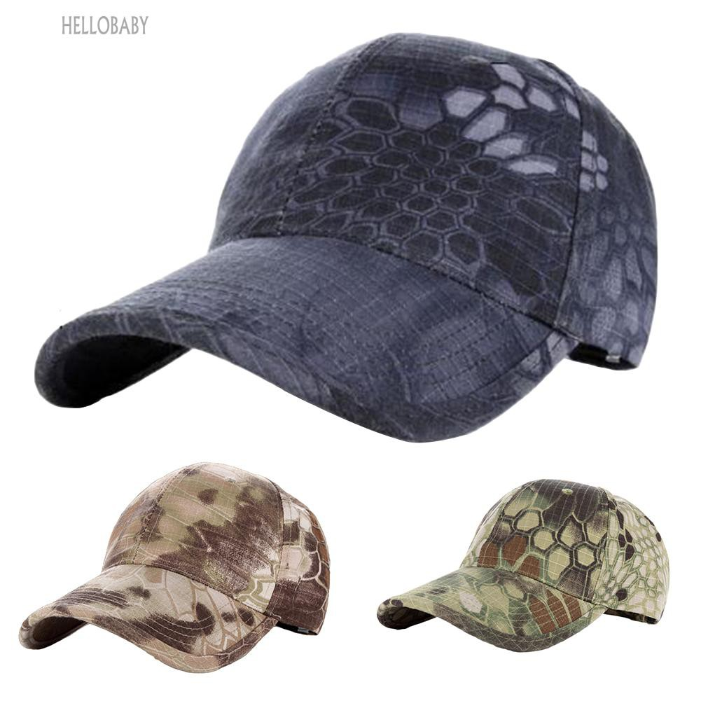58a0603a156 Men Uniisex Camo Camouflage Patrol Castro Hat Military Army Baseball Cadet  Cap