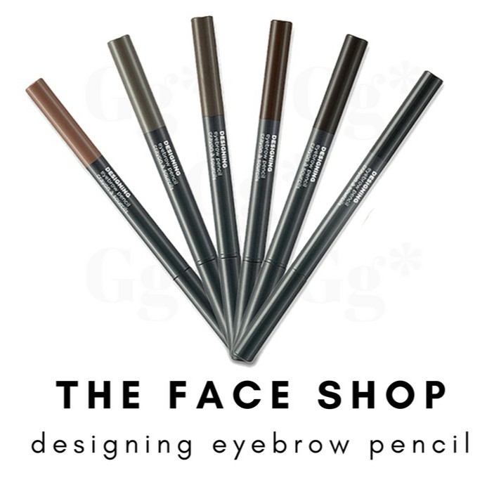 The Face Shop Designing Eyebrow Pencil Shopee Philippines