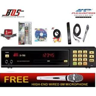 MP Megapro D-790 DoReMi Karaoke Player + DVD + Songbook + Re