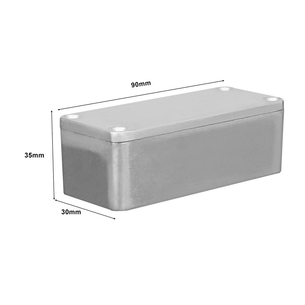 b732439b1d 1 X 1590B Aluminum Metal Stomp Box Case Enclosure Guitar Effect Pedal For  Guitar   Shopee Philippines