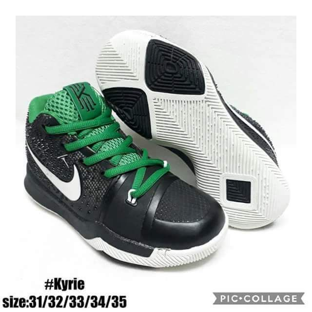d71a2f6c346 NIKE KYRIE IRVING BASKETBALL SHOES FOR KIDS. SIZES 31-35.