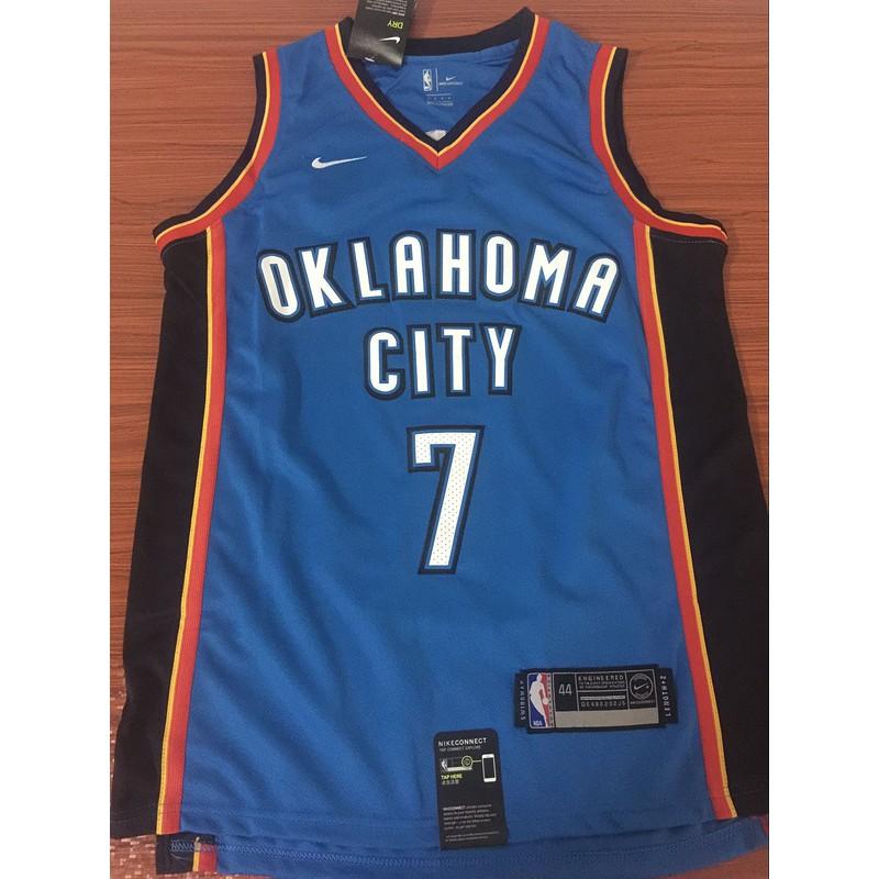 c68f4f58 Nike Carmelo Anthony #7 Oklahoma City Thunder NBA Jersey new ...