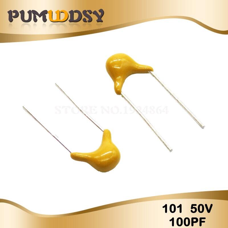 Multilayer ceramic capacitor 470PF ±5/%  471 NPO 5.08mm 100pcs