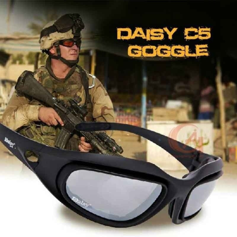 c1276debcf Tactical Combat Military Goggles Safety Protective Goggles Army Sunglasses